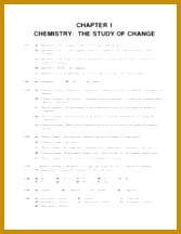 Chemistry Solution CHAPTER 1 CHEMISTRY THE STUDY OF CHANGE Problem Categories Biological 1 24 1 48 1 69 1 70 1 78 1 84 1 93 1 95 1 96 1 97 1 105 216167