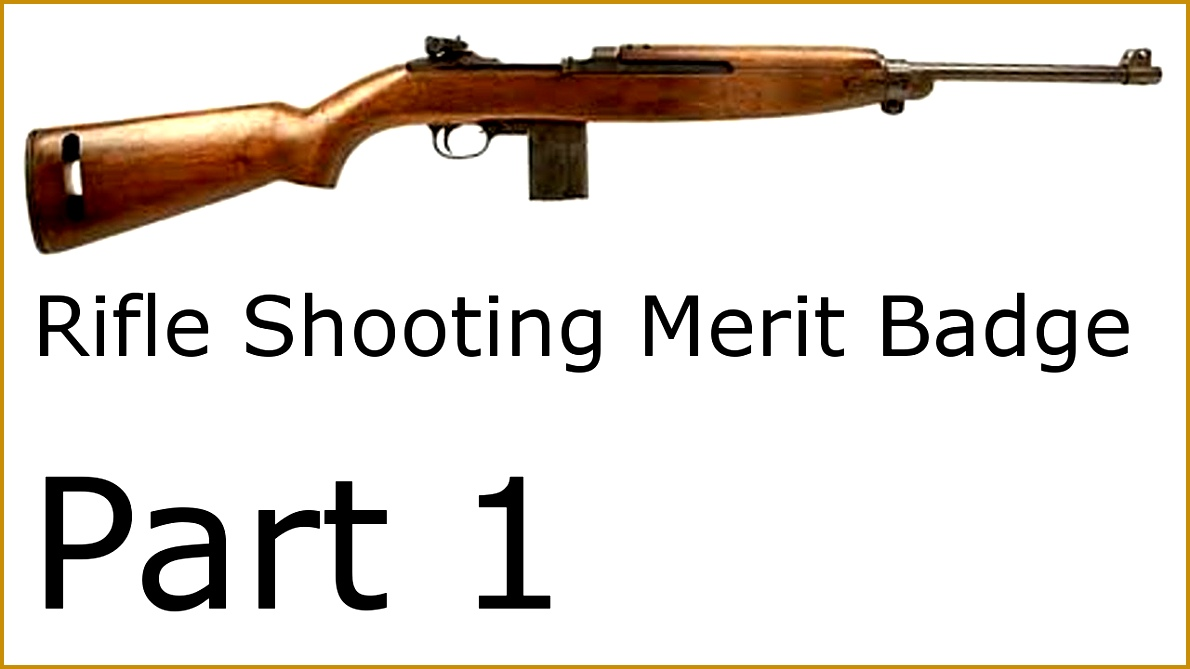 Alex s Rifle Shooting Merit Badge Part 1 Handbook and Practice 6691190