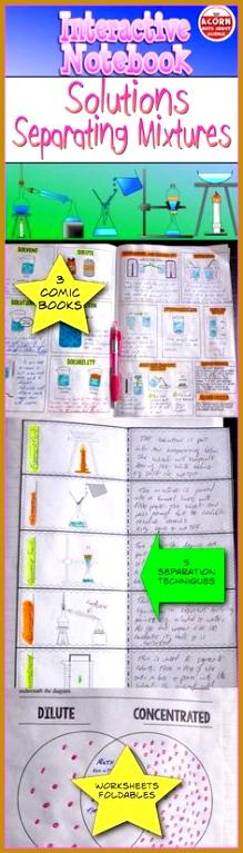 5 Mixtures Worksheet | FabTemplatez