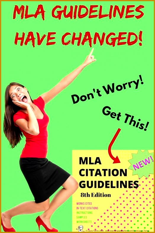 New MLA guidelines were released in April 2016 Get everything you and 524785