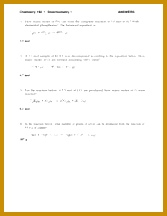 2 pages Stoichiometry 1 Worksheet Solution 216167