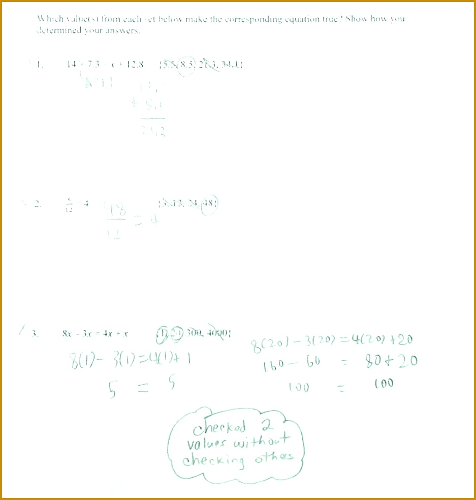 Solving Two Step Equation Worksheets Almost There Multi Equations With Rational Numbers Worksheet Pdf 984937
