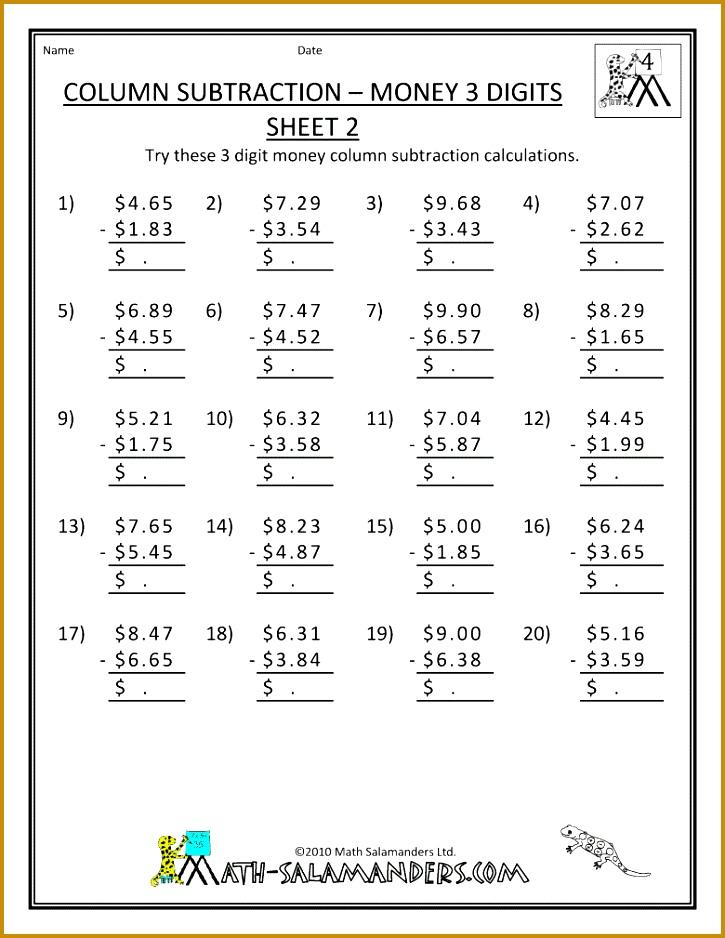 Math Worksheets For 4 Grade 938725
