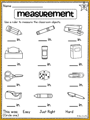 Free Non Standard Measurement Worksheets Worksheets for all Download and Worksheets 418314