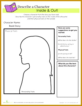 Character Worksheet 361279