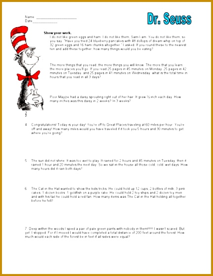 Fourth Grade Math Word Problems Worksheets Worksheets for all Download and Worksheets 558431