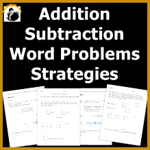 Addition and Subtraction Word Problems Strategies 1st Grade 2nd Grade 219219