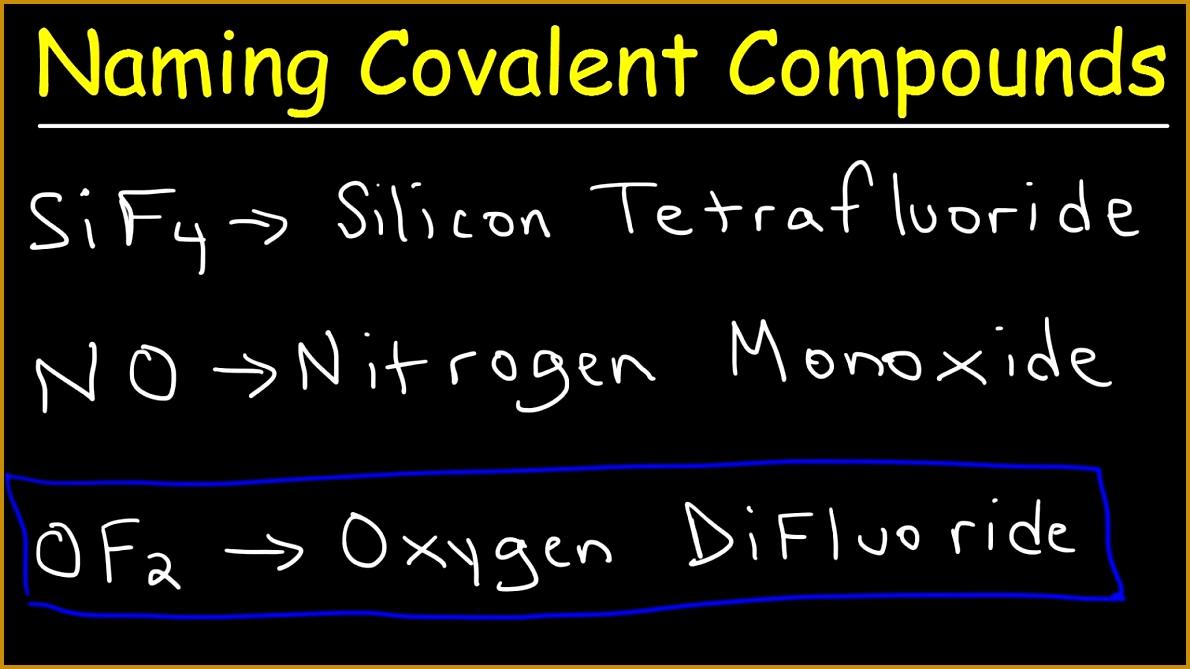 Naming Covalent Molecular pounds 6691190