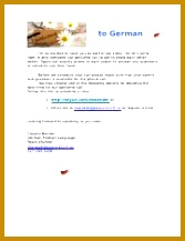 1 pages German Wel e Letter 15 217167