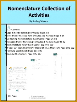 Nomenclature Collection of Activities 325245