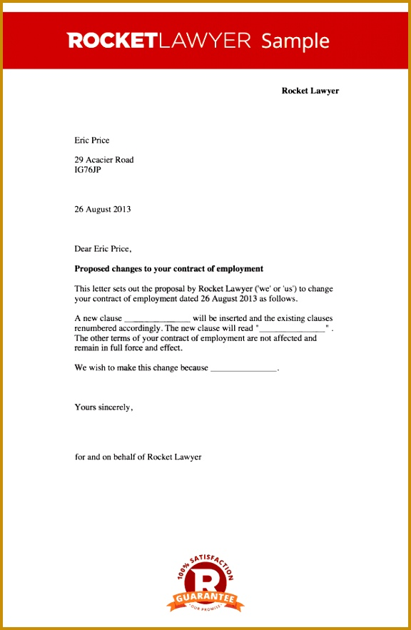 6 notice letter change of name template