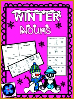 Differentiated engaging noun worksheets and activities Great for special needs students 325244