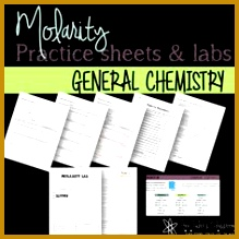 Molarity Labs and Worksheets 219219