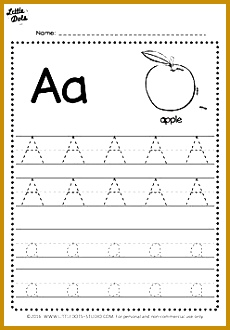 Free alphabet tracing worksheets 330230