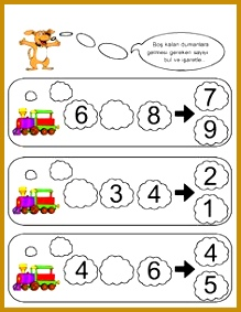 missing number worksheet for kids 21 283219