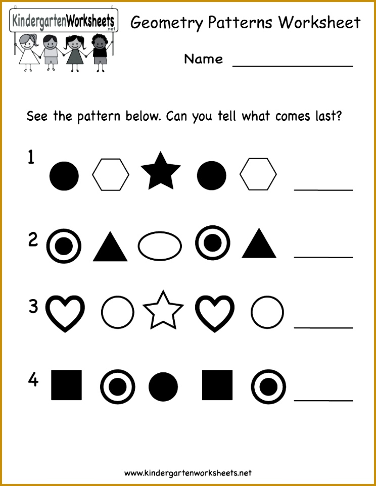 Pattern Worksheets Free Worksheets for all Download and Worksheets 962744