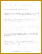 1 pages Colligative Properties Worksheet Key 216167