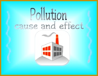 Cause and Effect Worksheet Students can illustrate or write a description of the effects of pollution 251325