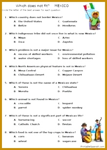 Printable Spanish FREEBIE of the Day Spanish Speaking Countries worksheet packet from PrintableSpanish 308219