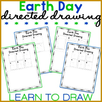 This Earth Day themed Directed Drawing worksheets include 1 x Recycling Can Directed Drawing 1 325325