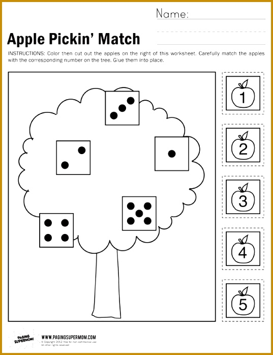 the link above to our free Apple Pickin Math worksheet ideal for pre 698537