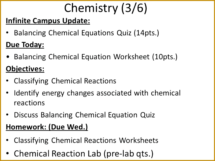 6 Predicting Products Of Chemical Reactions Worksheet ...