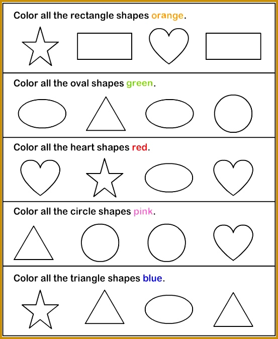 Preschool worksheets Printable Worksheets for Preschool Kids 674553