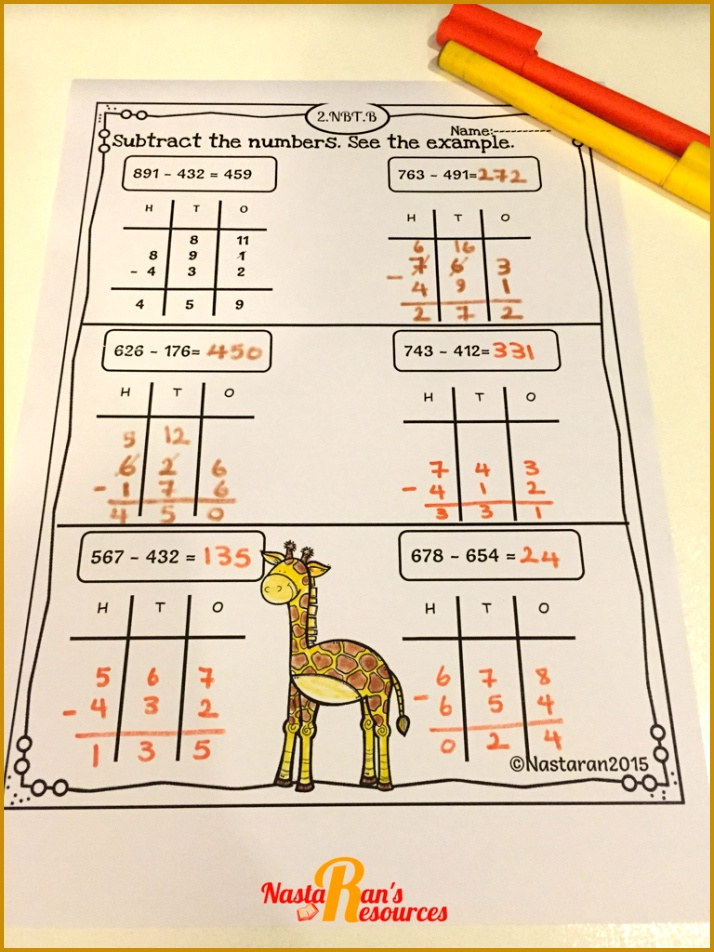 mon Core Math Printables Second Grade includes 54 printable worksheets that cover every Second Grade Math 714952