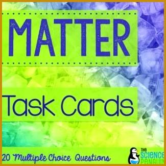 Matter Task Cards Properties 325325