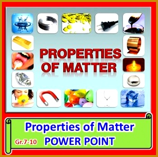Properties of Matter PowerPoint Editable 324325