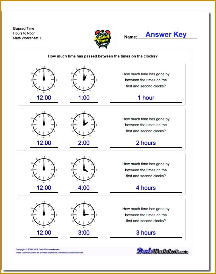 Analog Elapsed Time 753953