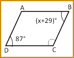 According to the properties of parallelogram 198252