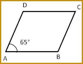 Properties of parallelograms worksheet problems 212272
