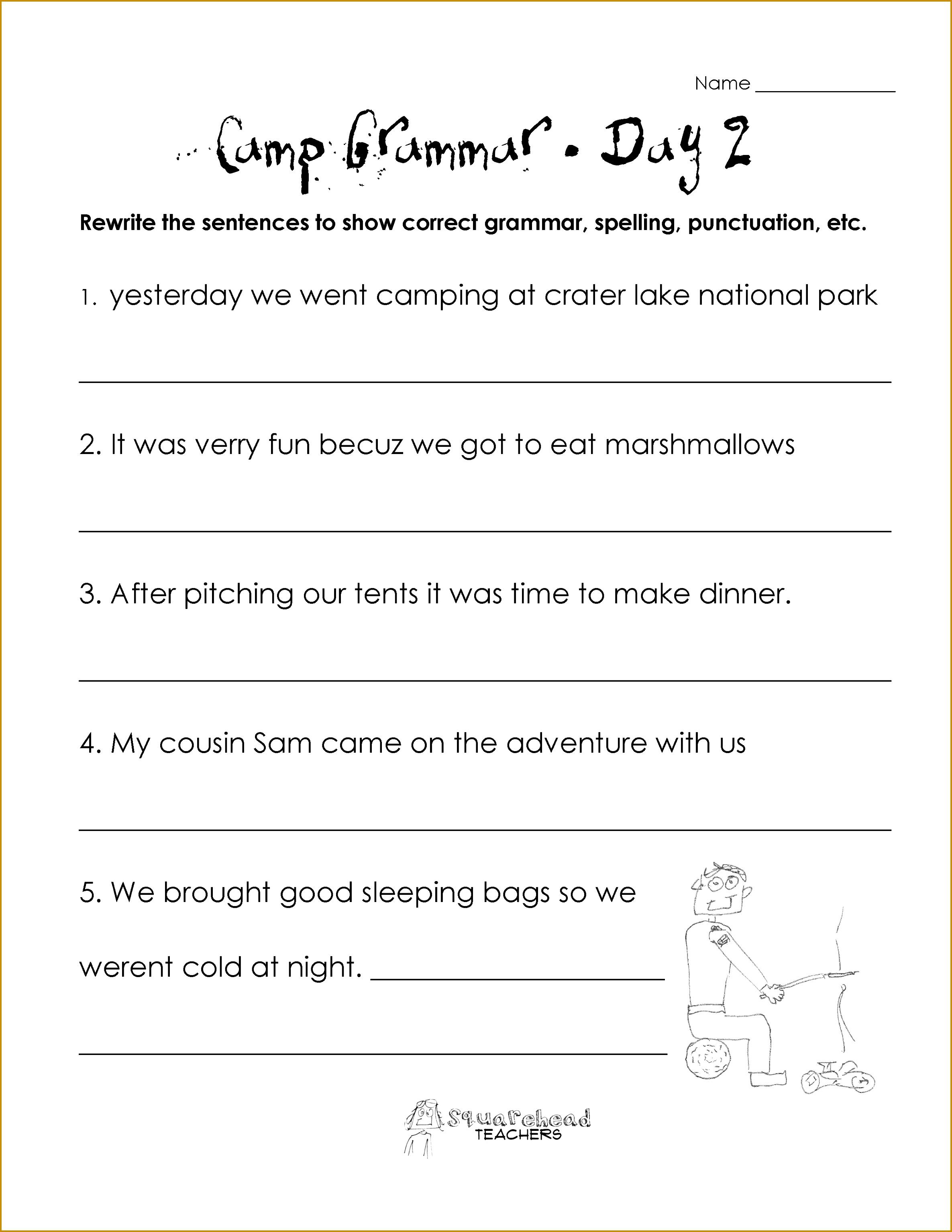 Noun Worksheets Grade 2 Worksheets for all Download and Worksheets 30692371