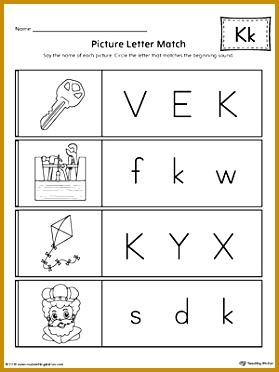 Letter K Worksheets Worksheets for all Download and Worksheets 372279