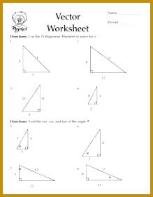 pythagorean theorem worksheets 283219