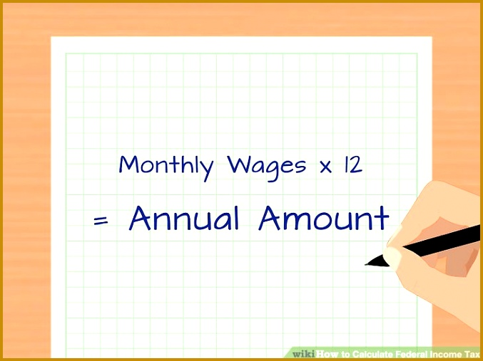 Image titled Calculate Federal In e Tax Step 1 507677
