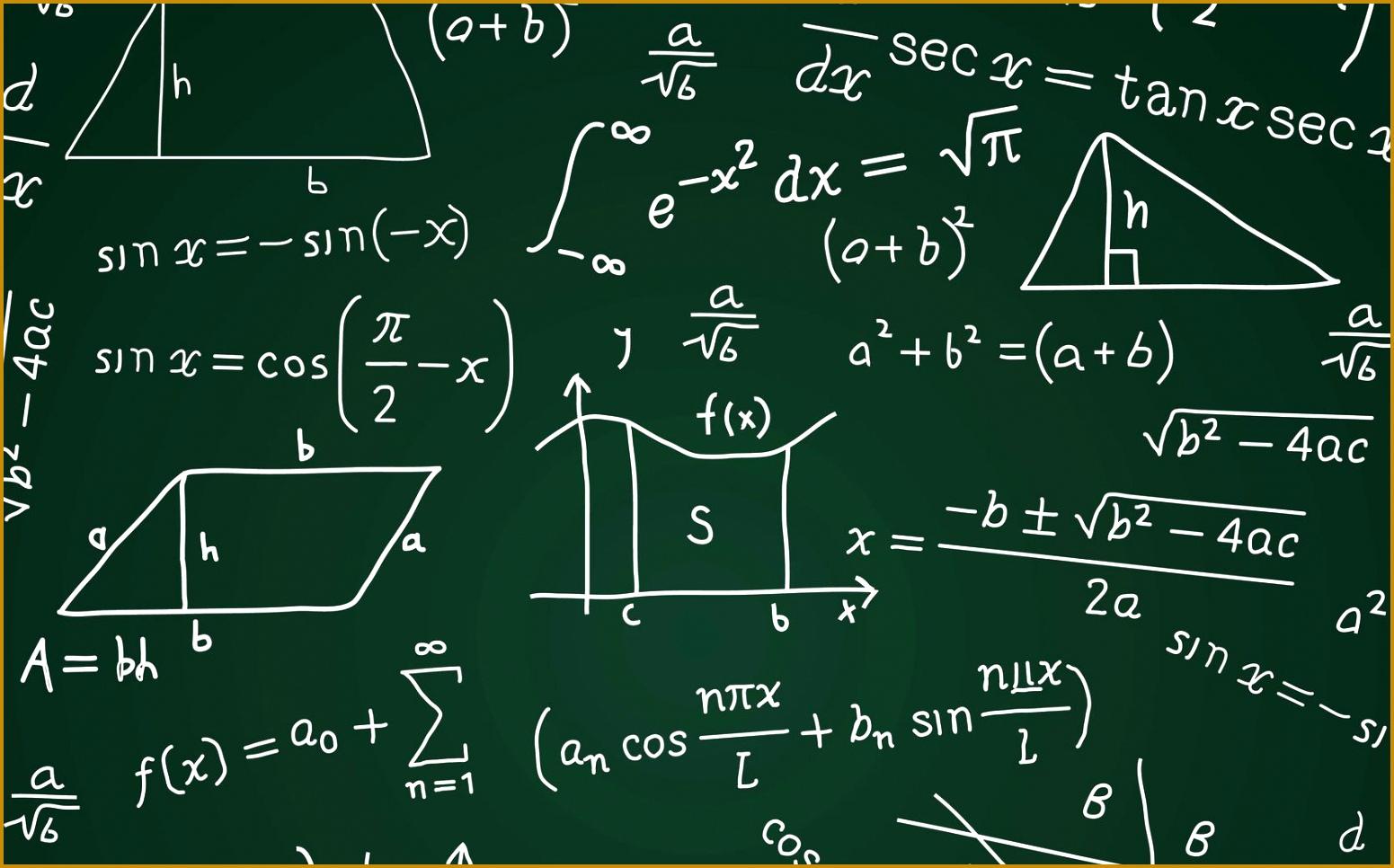 Math Formula Blackboard Calculation 1551966