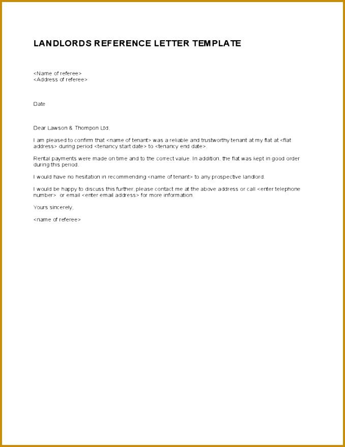 13 landlord reference letter 878678