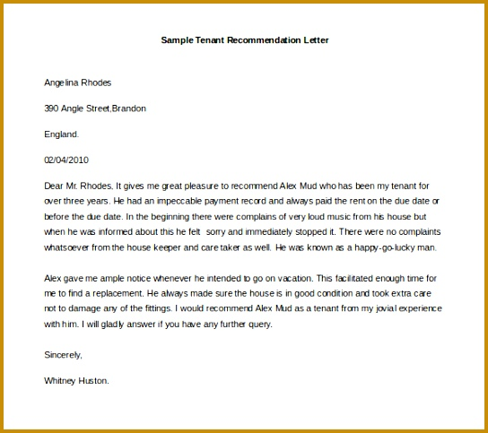 Free Re mendation Letter Template 21 Re mendation Letter 483544