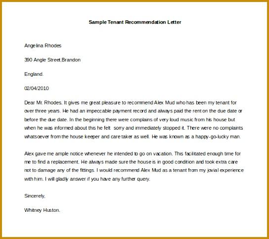 Free Re mendation Letter Template 21 Re mendation Letter 483544