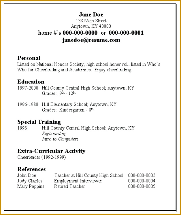 Scholarship Resume Template: 6 Request Letter For A Scholarship Template