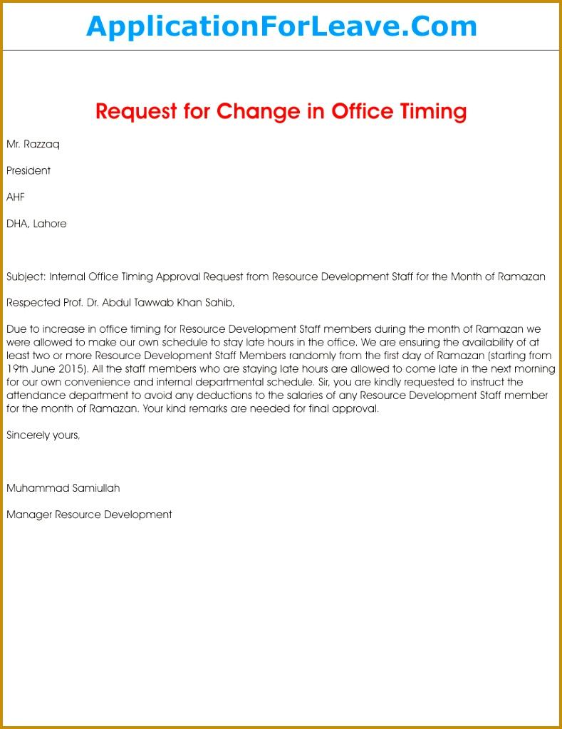 Request letter for change in work schedule template 01846 letter to gallery of request letter for change in work schedule template 01846 letter to request flexible working sample template spiritdancerdesigns Gallery