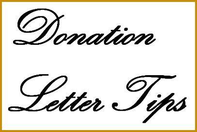 donation letter tips 274407