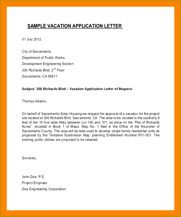 holiday request letter for school request letter for schoolhool holiday request letter vacation application letter templates 723602