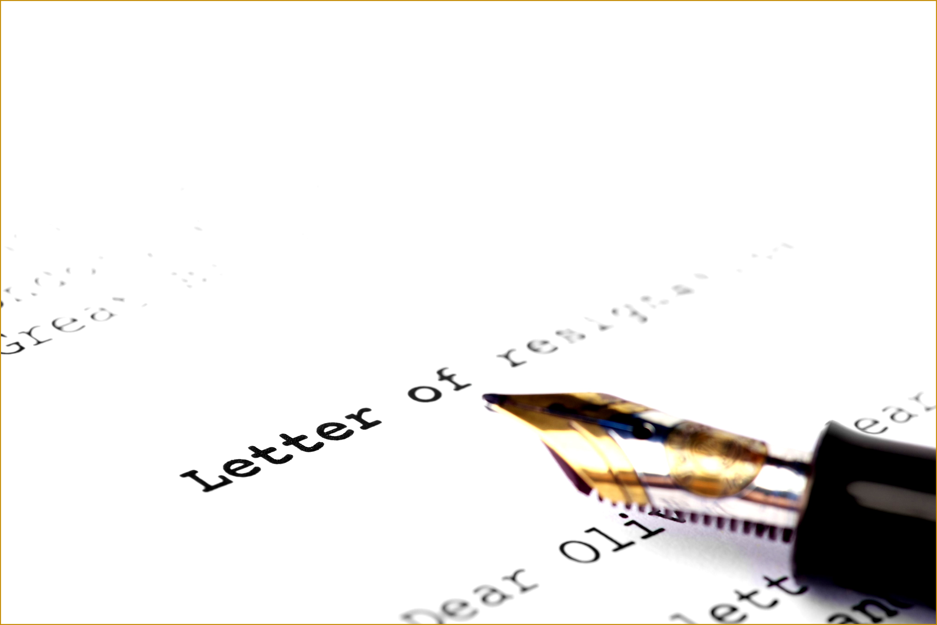 Resignation Letter Sample With 24 Hours Notice 25003750