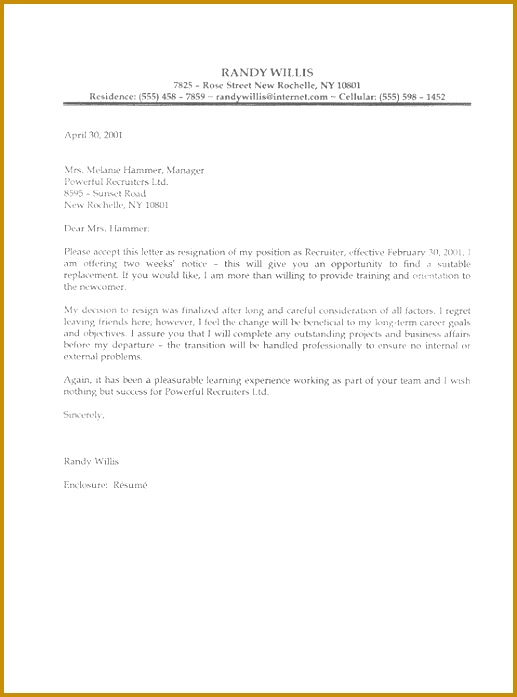 letter of resignation samples template example of a resign letter Basic Job Appication Letter 697517