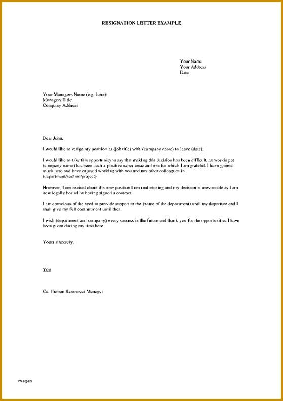 Format Resign Letter From Job Lovely Job Resigning Letter Format Toreto 789558
