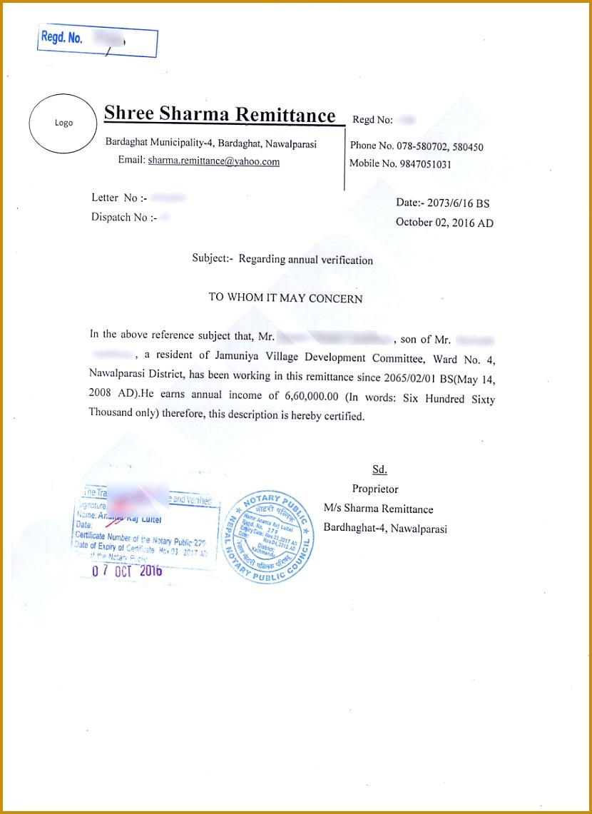 Salary Certificate Sample 3 1141830
