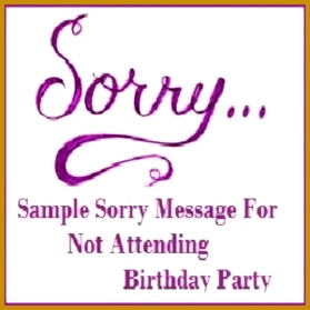 Write a letter to friend who has invited you to attend his birthday party refusing the invitation 279279